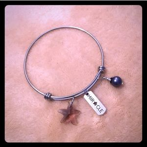 """🆕Stainless Steel """"Miracle"""" Charm Bracelet"""